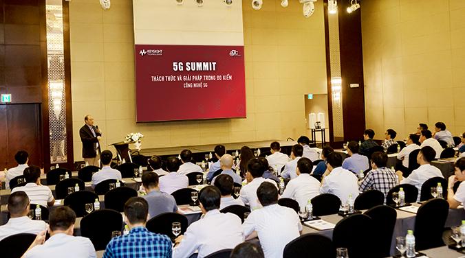 Ông Raymond Shen - Giám đốc giải pháp Keysight Technologies