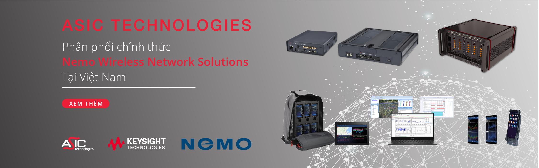 ASIC Technologies phân phối sản phẩm và giải pháp Nemo Wireless Network tại Việt Nam